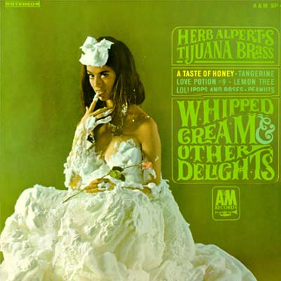 Image result for herb alpert whipped cream picture