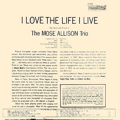 Mose allison trio album cover art gallery i aint got nobody altavistaventures Gallery