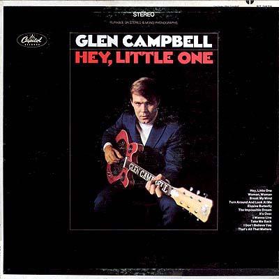 Cover Art Glen Campbell Hey Little One