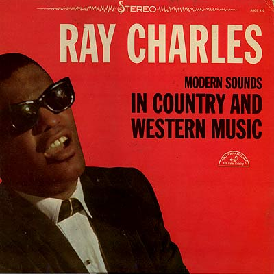 Cover art ray charles modern sounds in country and western music