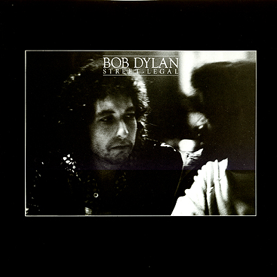 Album Cover Art - Dylan - Street Legal