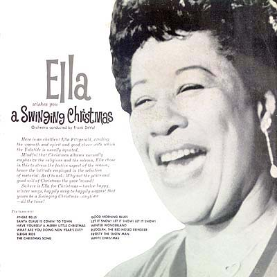 Cover Art: Ella Fitzgerald - Wishes You a Swinging Christmas