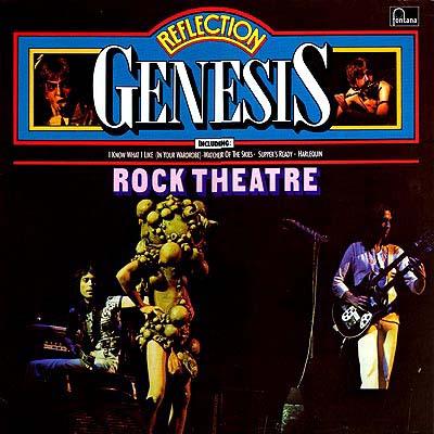Cover Art Genesis Reflection Rock Theatre