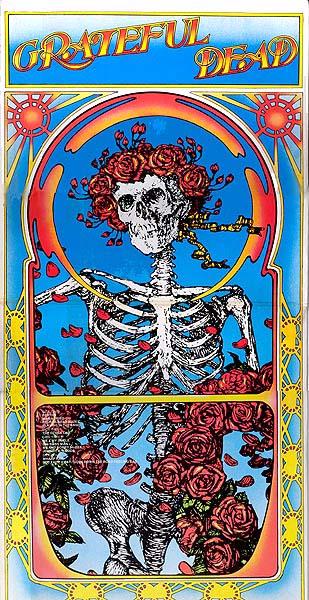 Cover Art Grateful Dead Live 2 Lp Set