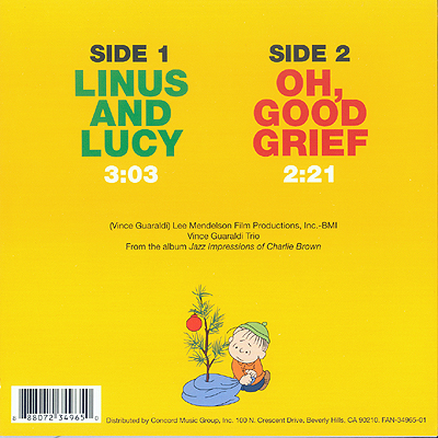 Album Cover Art Linus And Lucy