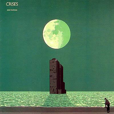 Album Cover Art: Mike Oldfield - Crises
