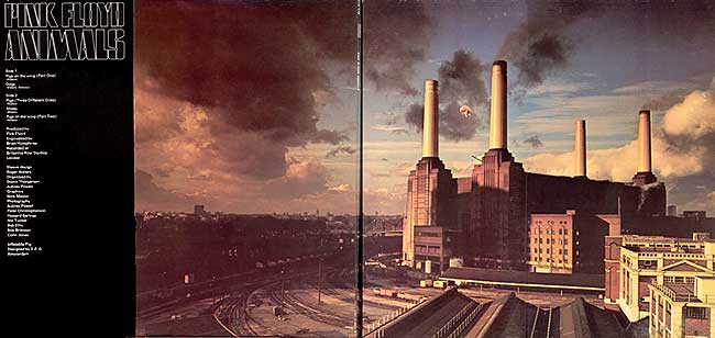 Back Cover Front Cover. Artist: Pink Floyd. Title: Animals