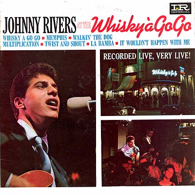 Album Cover Art Johnny Rivers At The Whisky A Go Go