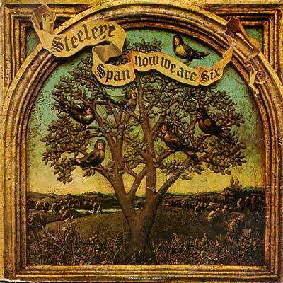 Album Cover Art Steeleye Span Now We Are Six