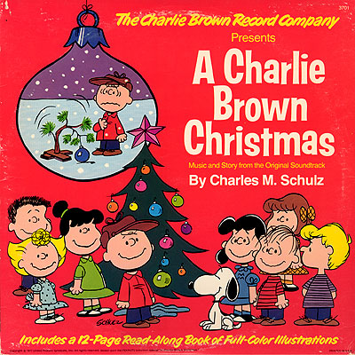 Christmas Album Cover Art.Album Cover Art Charles M Schulz A Charlie Brown Christmas