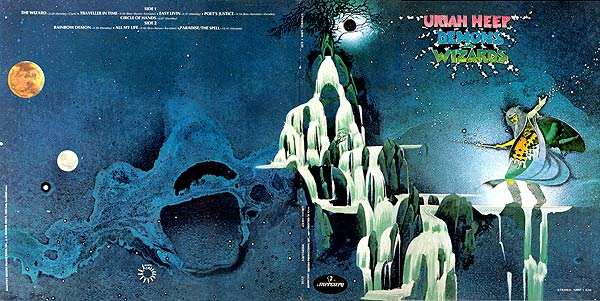 Album Cover Art Uriah Heep Demons And Wizards