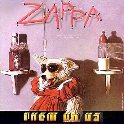 Album Cover Art Frank Zappa Them Or Us